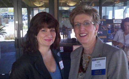April 21, 2011 Luncheon Meeting with Renie Cavallari, Aspire Marketing