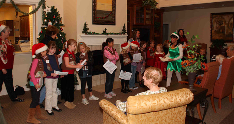 Community Outreach Event - Holiday Caroling